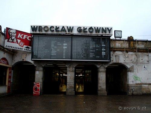 Dworzec Główny we Wrocławiu