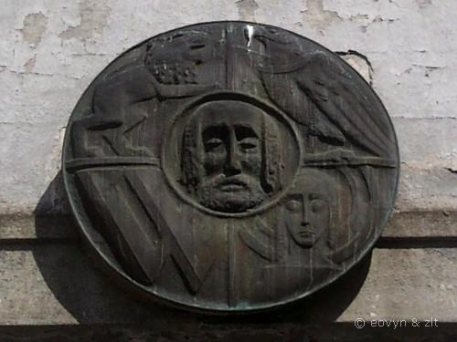 Herb przed mostem Sikorskiego