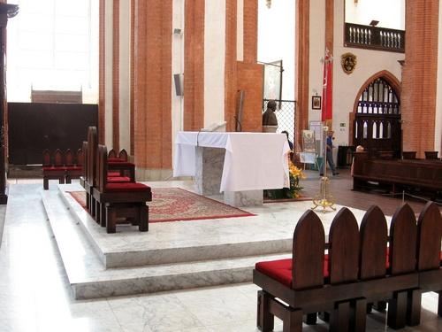 W kościele garnizonowym
