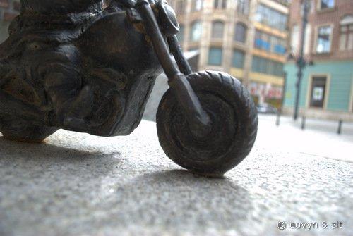 Krasnal Motocyklista