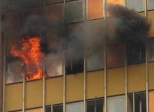 Pożar w poltegorze