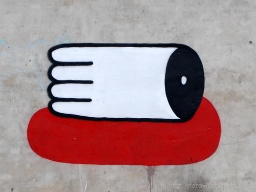 Murale na Ptasiej